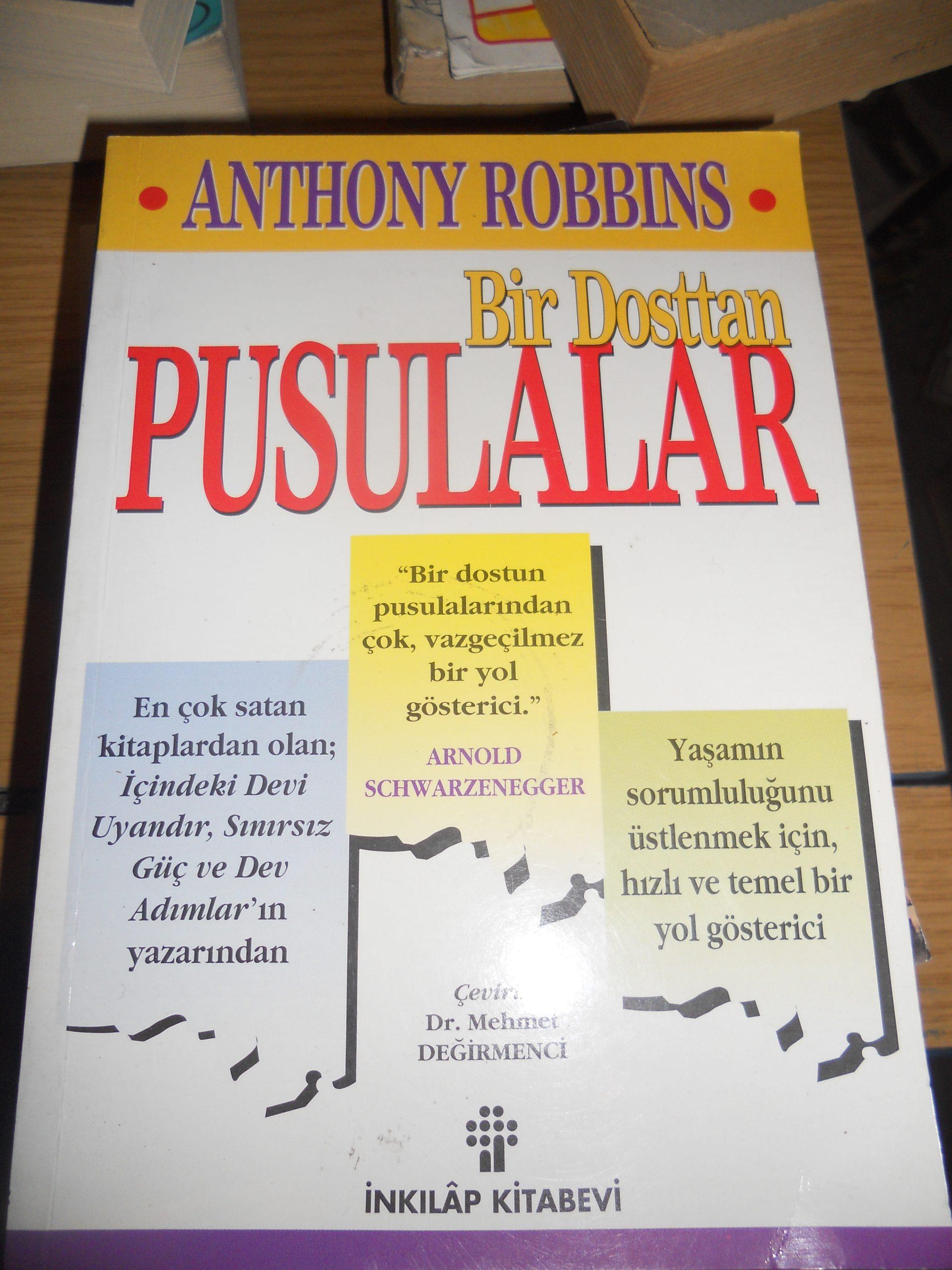 Bir Dosttan PUSULALAR/ Anthony ROBBINS/ 15 TL